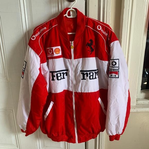 Ferrari Jackets Coats Vintage Ferrari Racing Jacket Michael Schumacher Poshmark